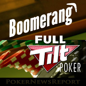"Full Tilt Offers ""Boomerang"" Promo From Oct. 19-26"