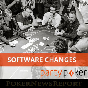 Party Poker Software Changes