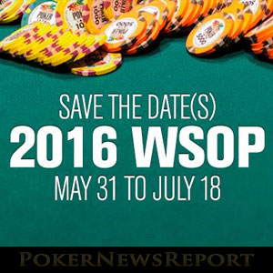 2016 WSOP to Kick Off with $7 Million GTD Colossus II