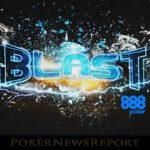 888 Poker Hosting Million Dollar Blast Games with $1 Buy-Ins