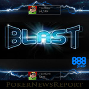 Blast SNG's at 888Poker
