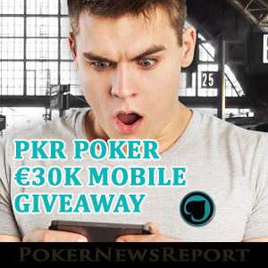 Act Quickly to Cash In on PKR Poker´s Mobile Giveaway