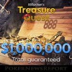 888 Poker Launches $1 Million Treasure Quest Promotion