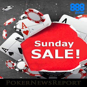 Sunday Sale at 888Poker