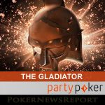 The Gladiator Returns to Party Poker Today