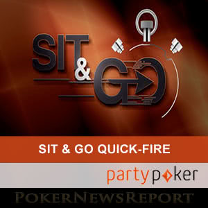 Sit & Go Quick Fire Leaderboards at Party Poker