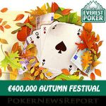 Everest Poker´s Autumn Festival Starts on Friday