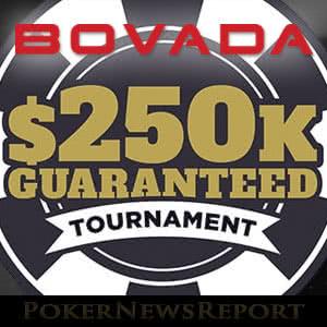 Bovada Poker´s $250K Tournament Satellites Now Running