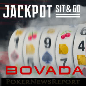 Jackpot Sit & Go's at Bovada Poker