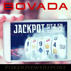 Mobile Jackpot Sit & Go's at Bovada Poker
