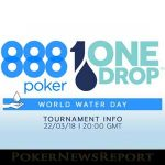 888 Poker Supports One Drop Event with Free Prize Draw