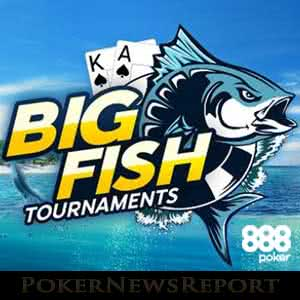 Big Fish Tournaments at 888 Poker