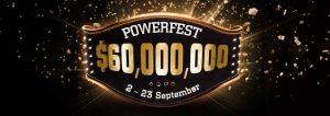 Party Poker's PowerFest September 2018