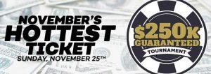 $250K GTD Bovada Poker Tournament