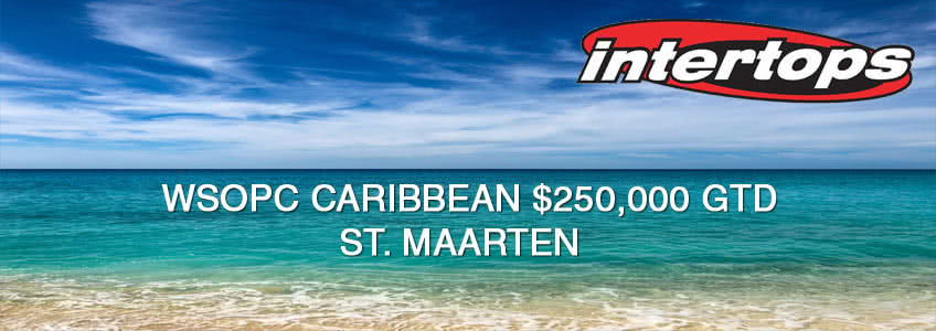 WSOPC Caribbean St. Maarten Packages at Intertops Poker