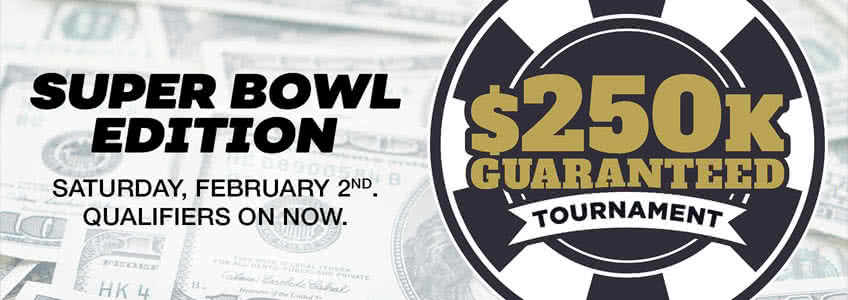Bovada $250K Super Bowl Poker Tournament Feb 2019