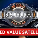 Party Poker Running Added Value KO Series Satellites