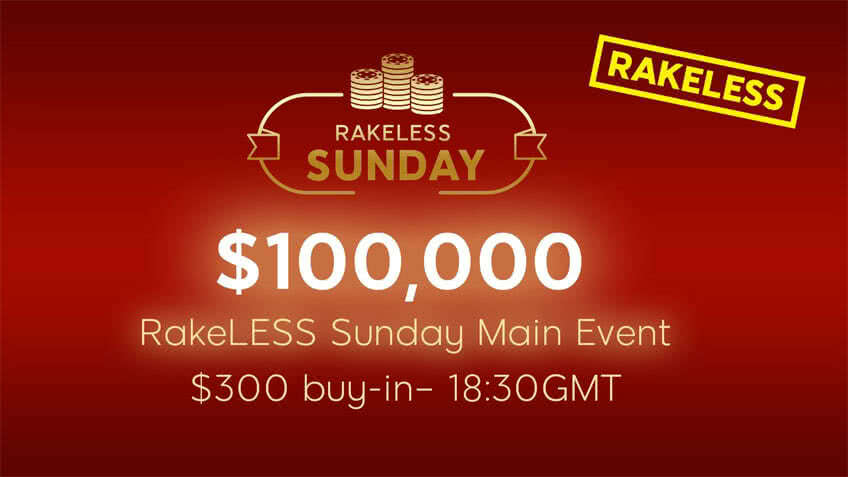 Rakeless Sunday Main Event