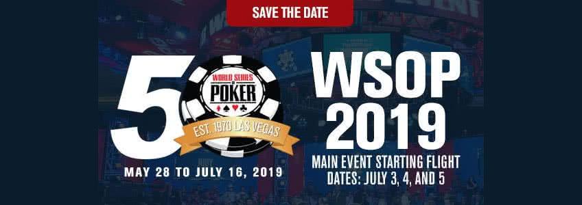 WSOP 2019