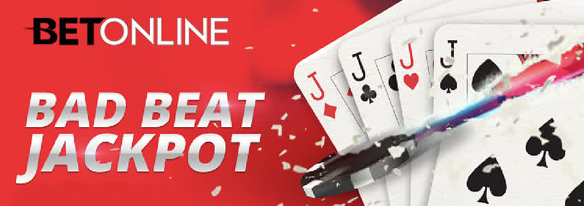 Bad Beat Jackpot at BetOnline Poker