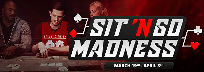 BetOnline Celebrating March Madness with New Sit & Go Game