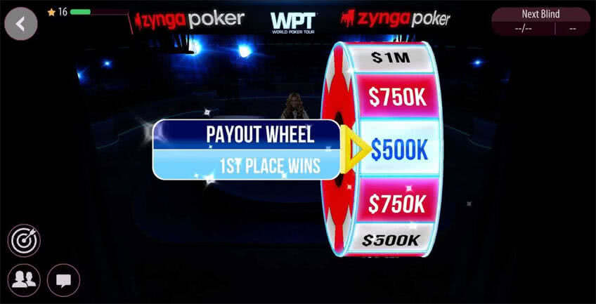 Spin & Win Payout Wheel