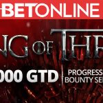Not Too Late to Win in BetOnline´s King of Thrones Event