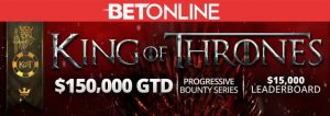 BetOnline´s King of Thrones