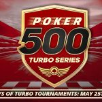 BetOnline Poker Running 500 Turbo Series this Weekend