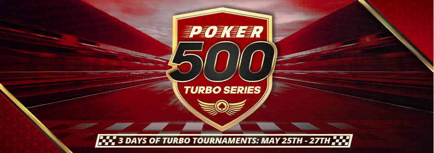 BetOnline Poker Running 500 Turbo Series this Weekend