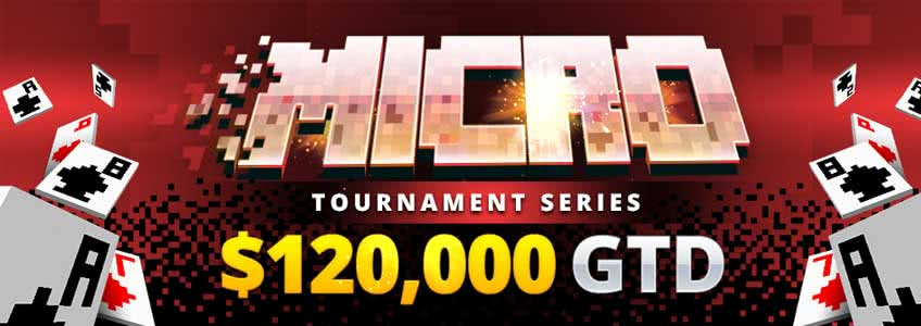 Don´t Miss the 100 Event Micro Series at BetOnline Poker