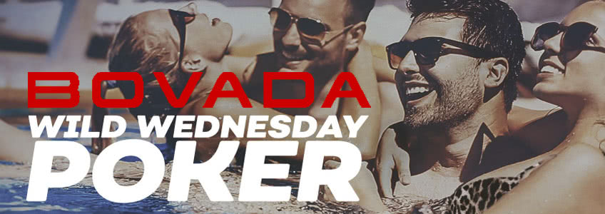 Wild Wednesday Returns to Bovada Poker on July 3rd
