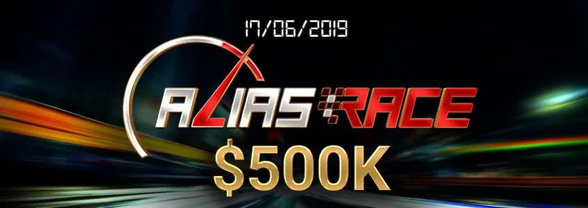 Party Poker Announces $500K Alias Race for 17th June