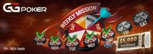 GGPoker Weekly Mission