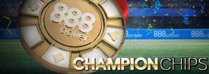 888Poker Champion Chips