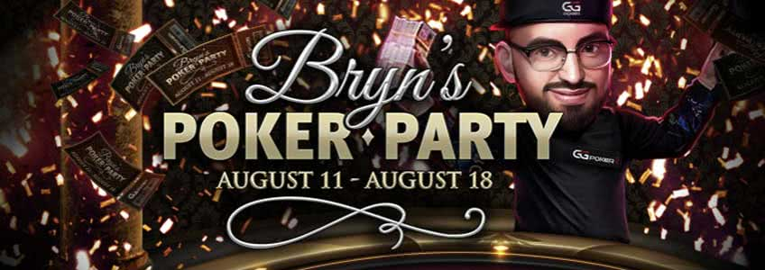 GGPoker Hosting $5,000 Added Bryn´s Poker Party this Week