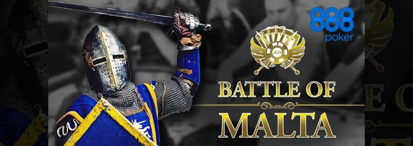 Last Chance to Win a Battle of Malta Package at 888 Poker