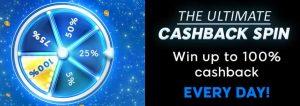 Cashback Spin at 888 Poker