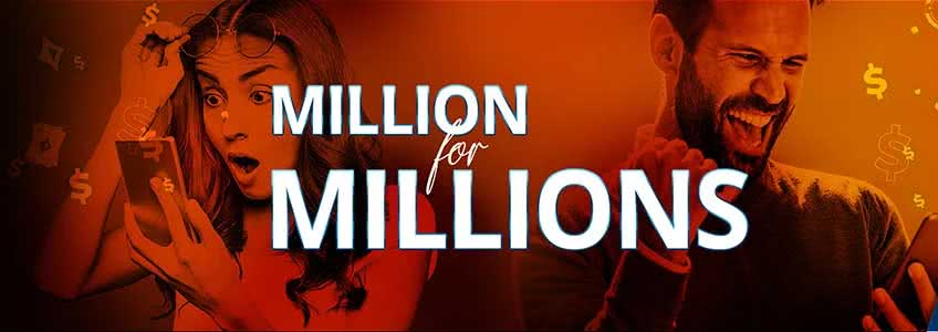Party Poker Launches Million Dollar MILLIONS Promotion