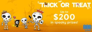 Trick or Treat at 888 Poker