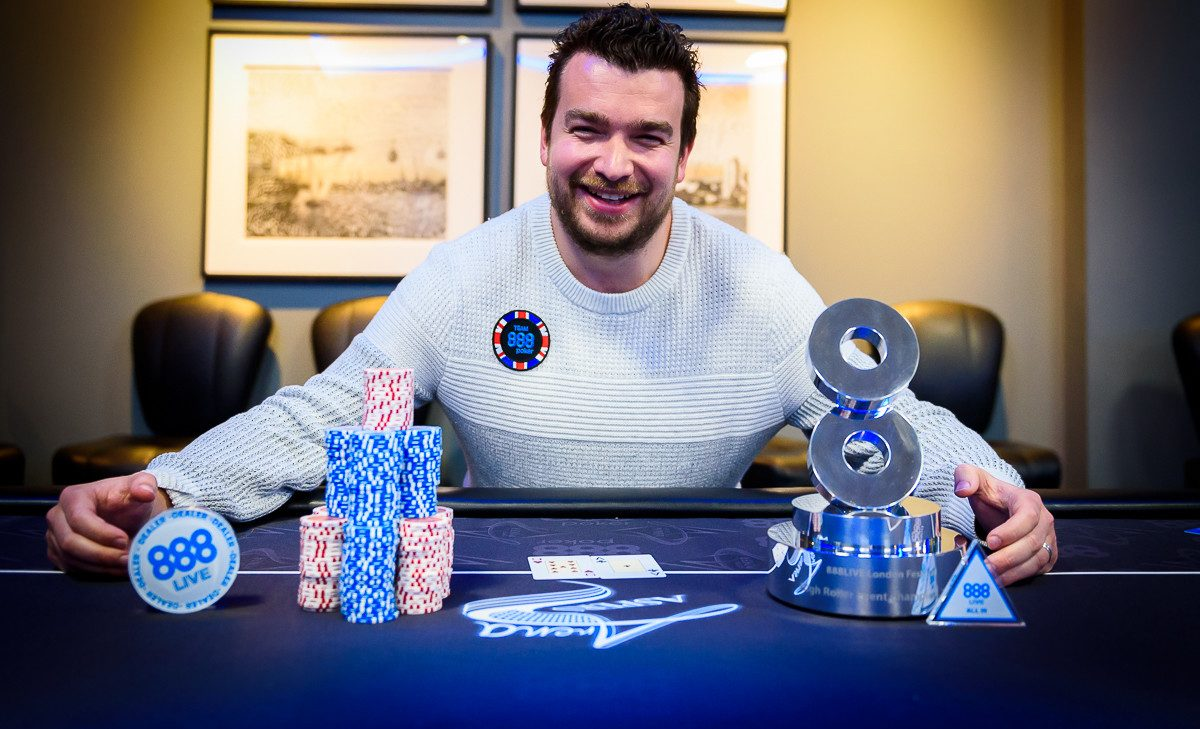 888poker Live High Roller in London: Moorman Wins First Prize!