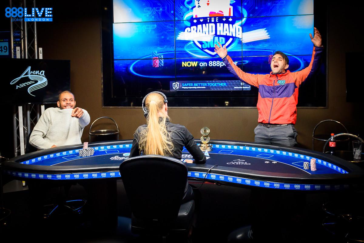 888poker LIVE London — Constantin Wins Main Event
