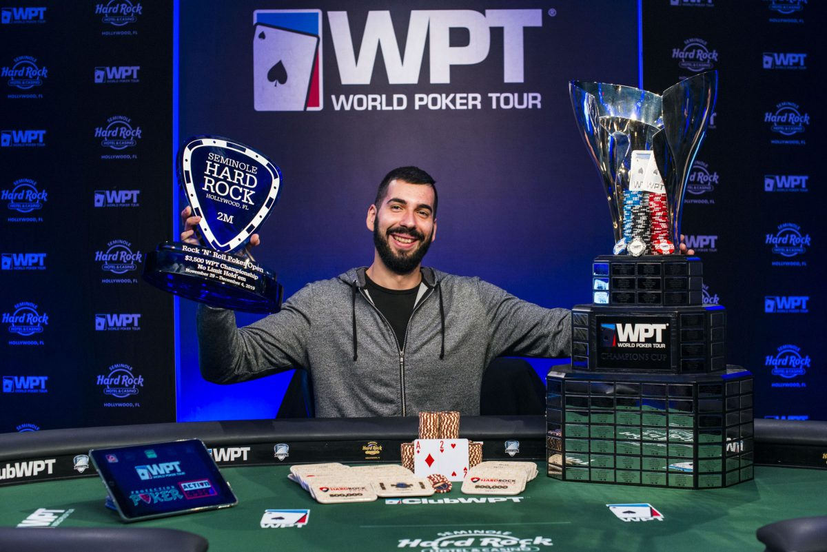 WPT Rock 'N' Roll Poker Open — Stefanov Wins Main Event