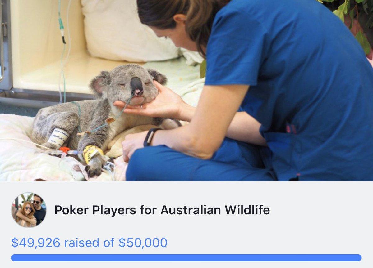 Australian Bushfire — Poker Community Jumps In To Help