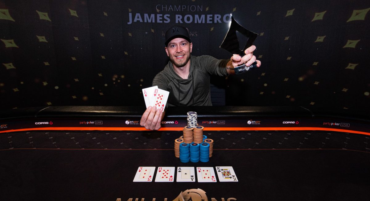partypoker MILLIONS South America — Romero Wins Super High Roller