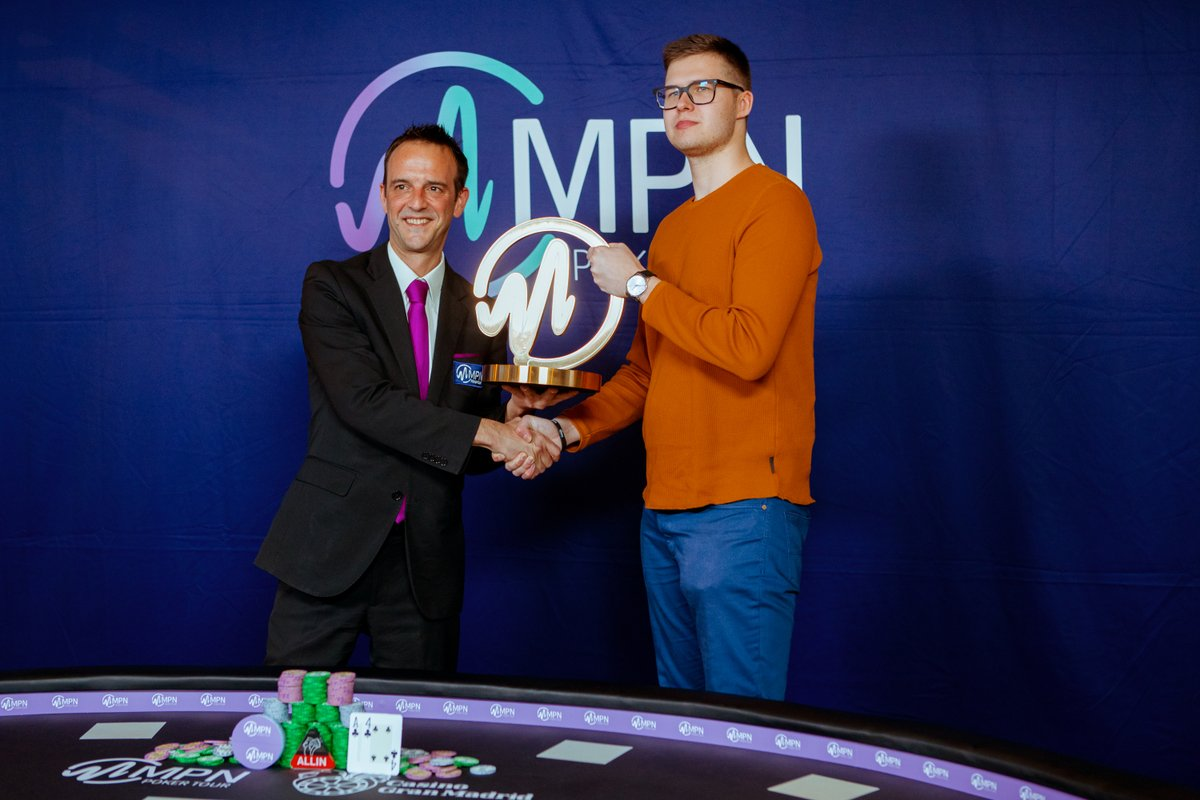 Piik Is Winner Of Last MPN Poker Tour Main Event
