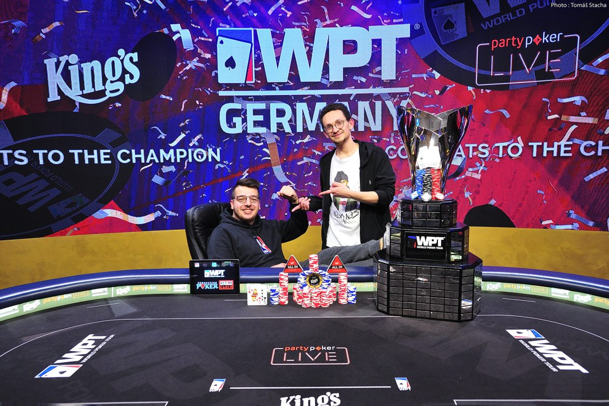 WPT Germany — Puetz Wins Main Event at King's Resort