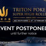 Triton Poker Super High Roller In Jeju Postponed Due To Coronavirus