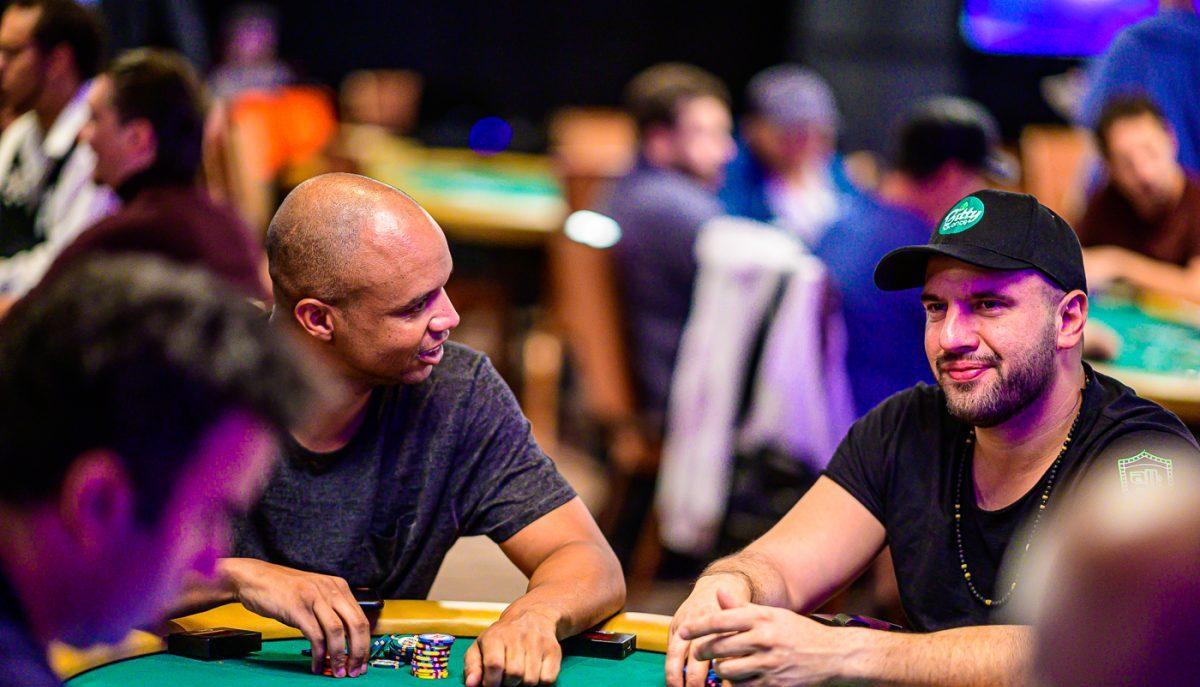 Trash Talk In Live vs. Online Poker