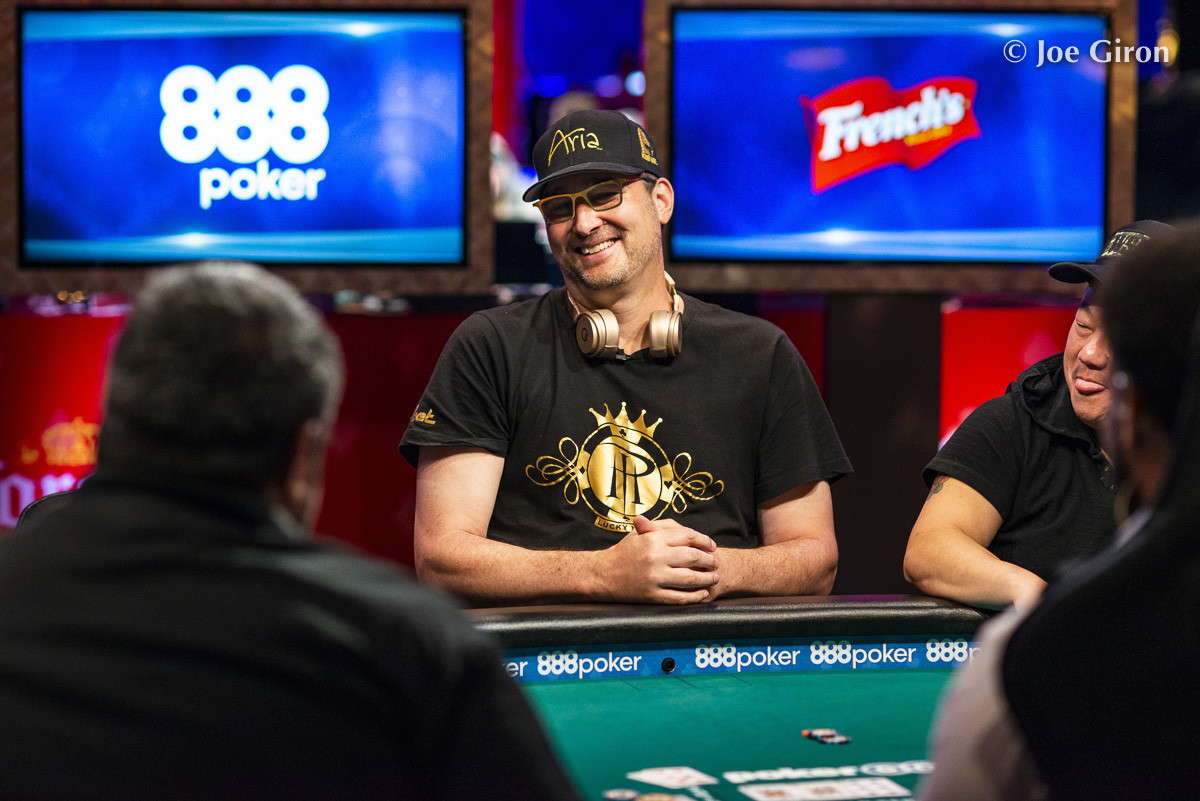 Hellmuth Back to WSOP, Makes a Deep Run at Event #1